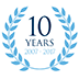 We're celebrating 10 years!