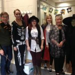 All the Team dressed up for a fun day of spooktacular goings on